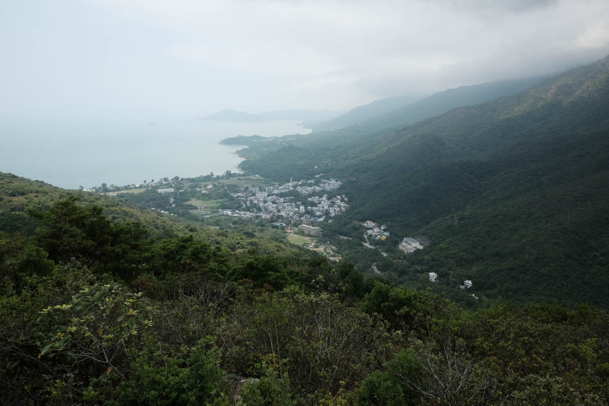 View from Tai Ngau Wu Teng, the highest point of the hike